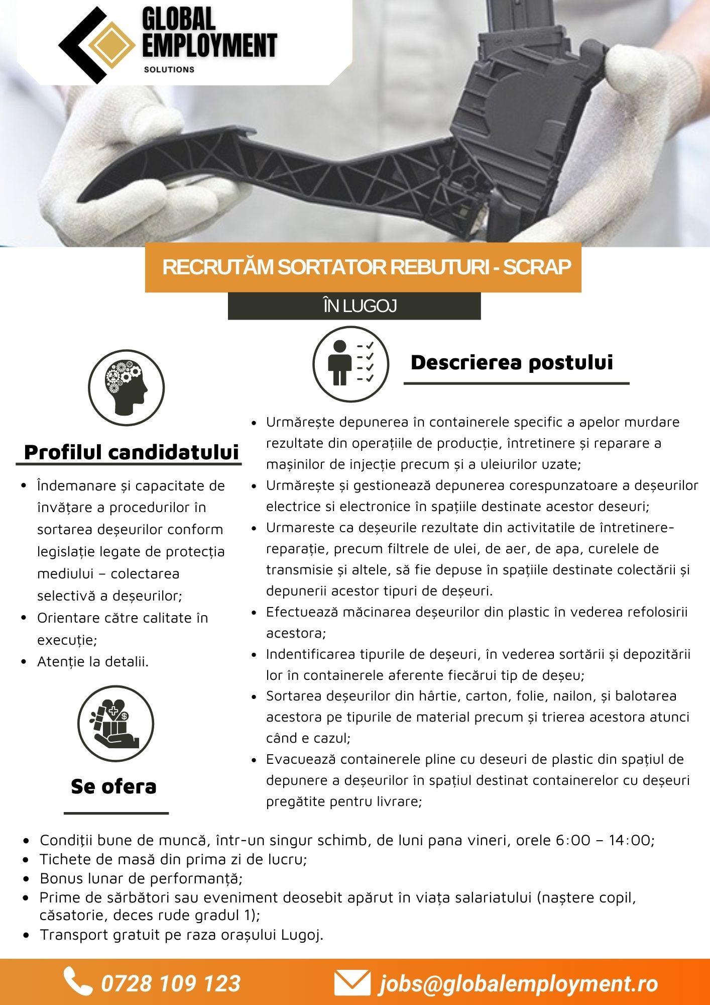 SORTATOR REBUTUR- SCRAP